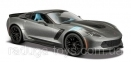 Автомодель Maisto 1:24 2017 Corvette Grand Sport (31516 met. grey) 2