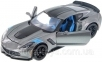 Автомодель Maisto 1:24 2017 Corvette Grand Sport (31516 met. grey) 1
