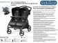 Коляска Peg-Perego BOOK FOR TWO Black черная (IP05280000SU13) 4