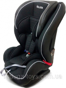 Автокресло Welldon Encore Isofix черный (BS07-TT01-001)