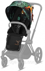 Комплект ткани для Cybex Priam Lux Seat Fashion Edition Birds of Paradise (519002195)