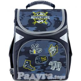 Рюкзак GoPack Education каркасный 5001-16 Adventure (GO20-5001S-16)