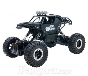 Автомобиль Off-Road Crawler на р/у Where The Trail Ends матов.черн., аккум.7.2V, мет.корпус,1:14 Sulong Toys (SL-121RHMBl)