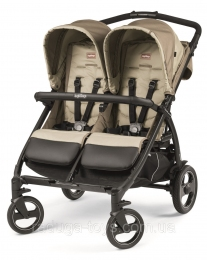 Коляска Peg-Perego BOOK FOR TWO CLASS BEIGE Бежевая (IP05280000SU36SU56)